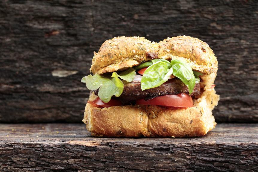 soy chunks burger